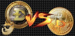 Lee más sobre el artículo DOGECOIN 🆚 BITCOIN 🥊   «La moneda del internet 🐕 contra el oro 2.0» (DOGE vs BTC)