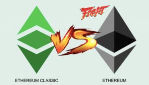 Lee más sobre el artículo Ethereum 🆚  Ethereum Classic…. Cual es la copia??  (ETH vs ETC) 🥊