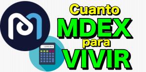 Lee más sobre el artículo 🤑 Cuánto MDEX necesito para VIVIR de mi inversión?? **Super Calculadora + reinversión perfecta**