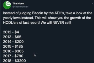 Lee más sobre el artículo Bajos mas bajos de Bitcoin desde 2012