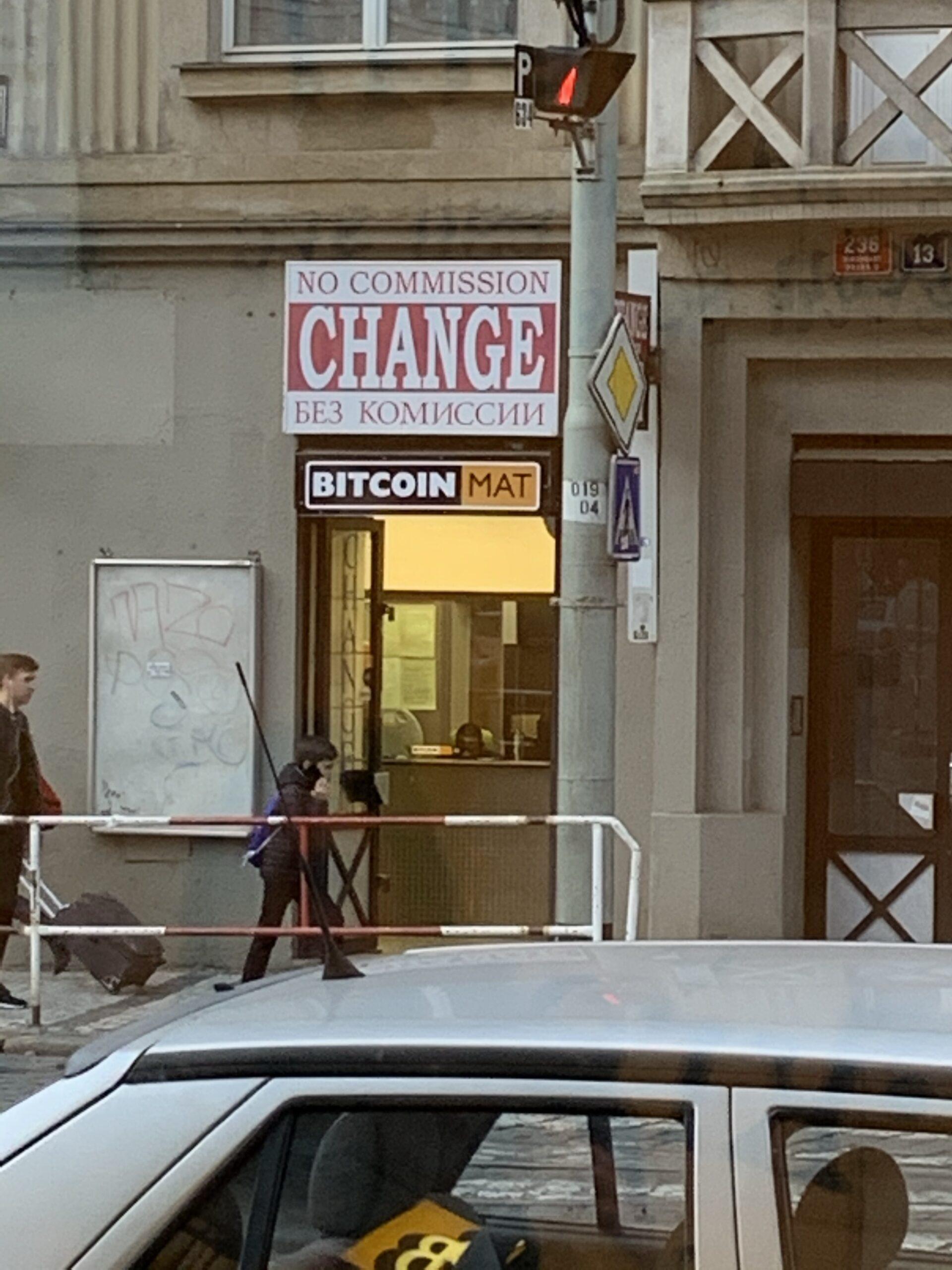 En este momento estás viendo Casa de cambio BTC en Praga