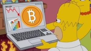 Lee más sobre el artículo Los simpson explicando que es Bitcoin