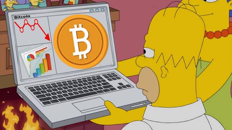 En este momento estás viendo Los simpson explicando que es Bitcoin