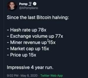 Lee más sobre el artículo Desde el ultimo halving de Bitcoin…