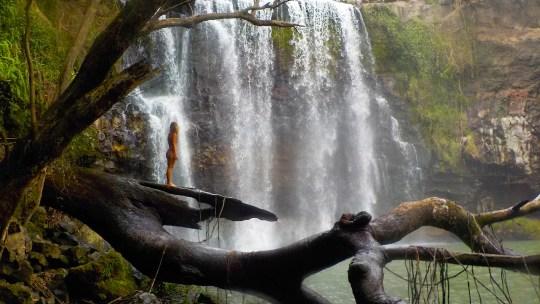 La imponente Catarata Llanos de Cortés