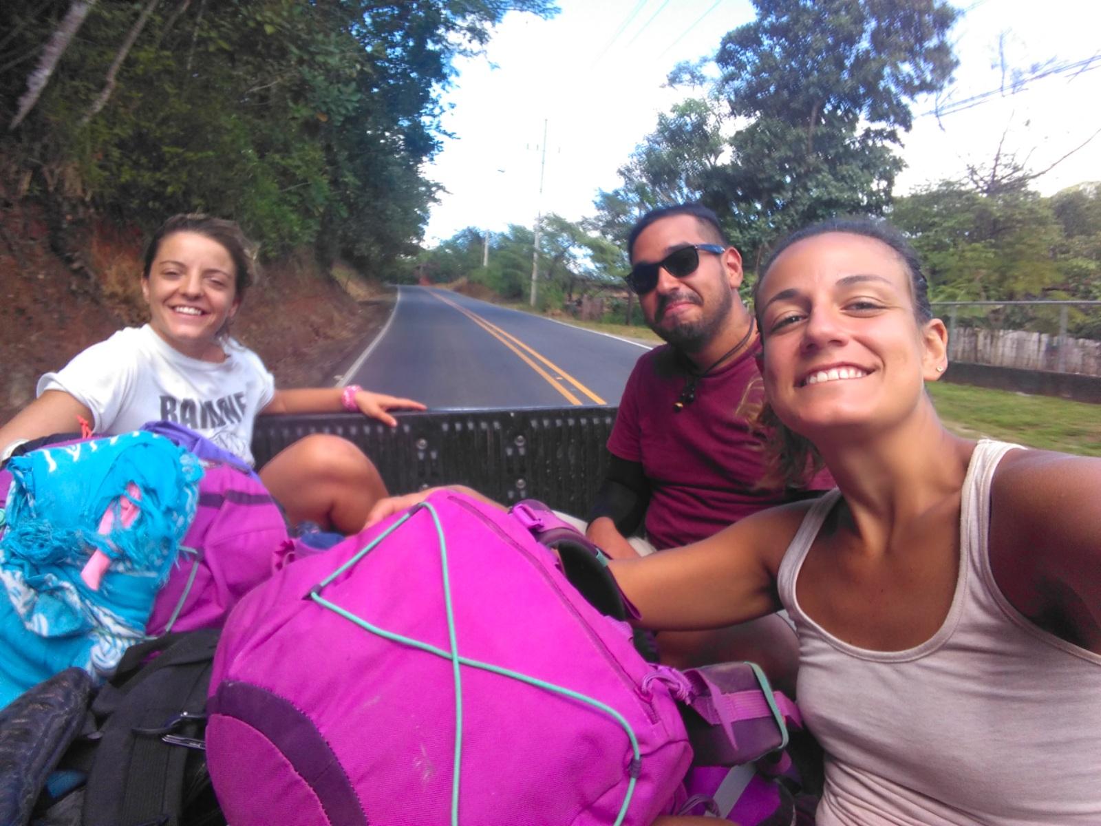Autostop en Costa Rica.
