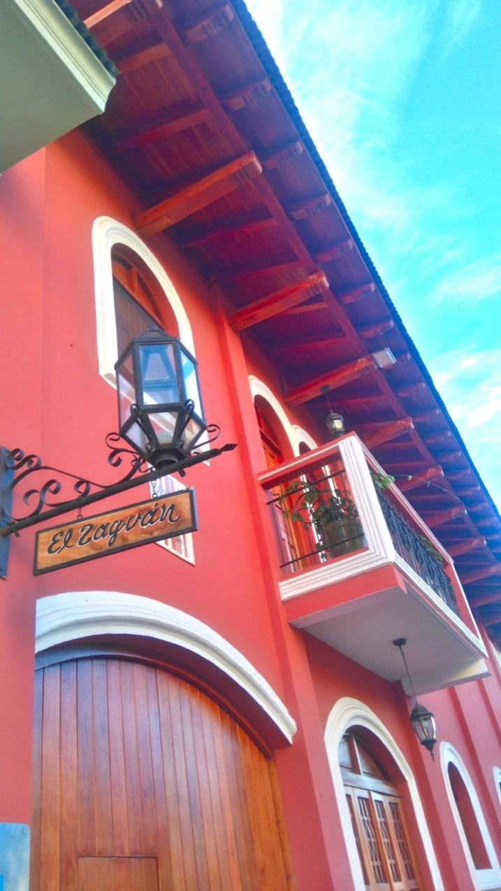 Calles de la ciudad de Granada, Nicaragua