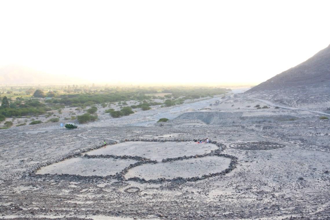 Punto magnético de Orcona, Orcona, Nazca, Perú