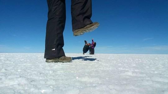 Salar de Uyuni, el más grande del mundo