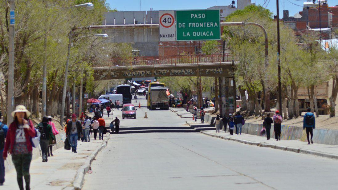 Frontera entre Argentina y Bolivia, la Quiaca