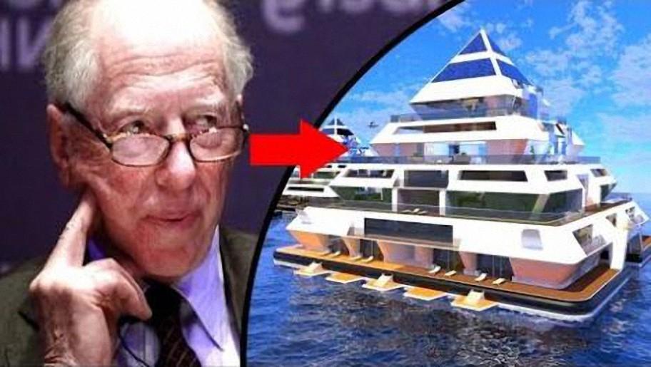 Los Rothschild construyen un gran refugio ¿A qué se preparan?
