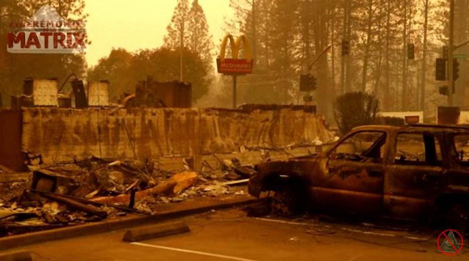 ¿Quién está detrás del incendio de California?
