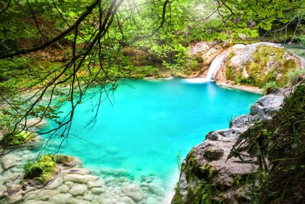 10 maravillas naturales de España. Urederra