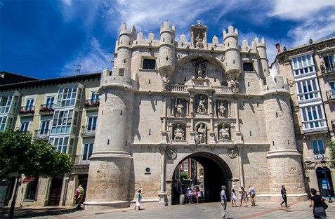 Burgos Arco de santa maria
