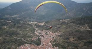 Volar en parapente en el Valle deo Tiétar