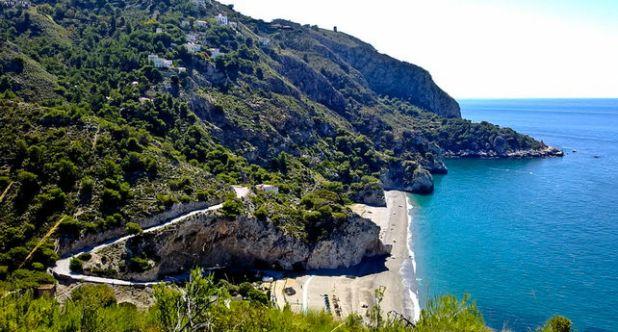 Playas poco conocidas de Málaga