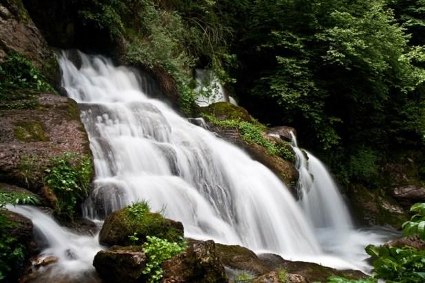 Cascada del nacimiento del Llobregat