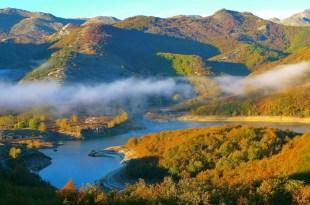 Embalse de Ruesga en otoño
