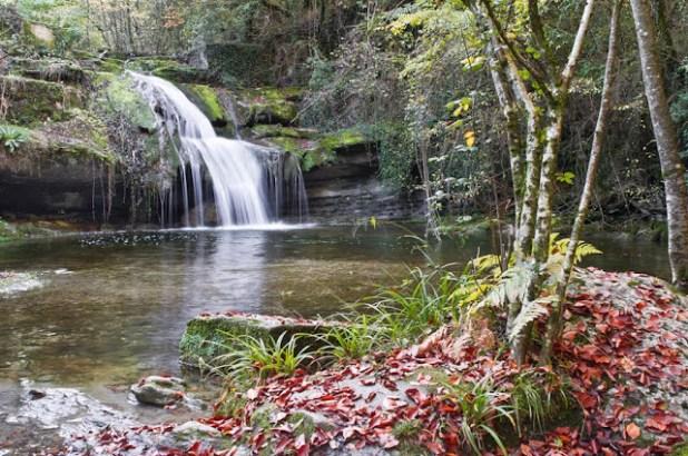 Cascada de Irús. Norte de Burgos