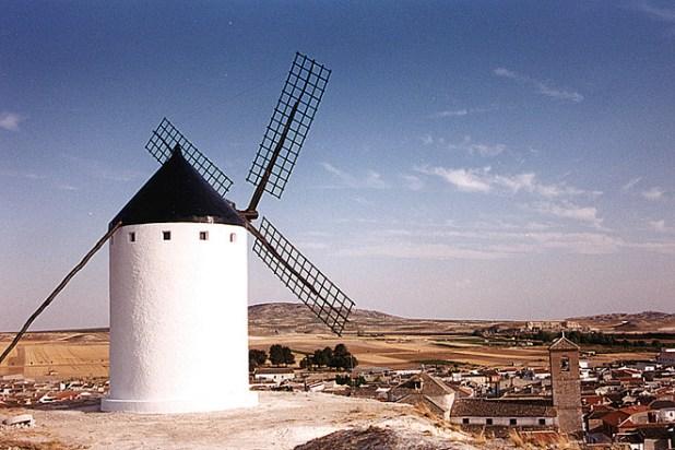Pueblos de La Mancha. Molinos del Romeral