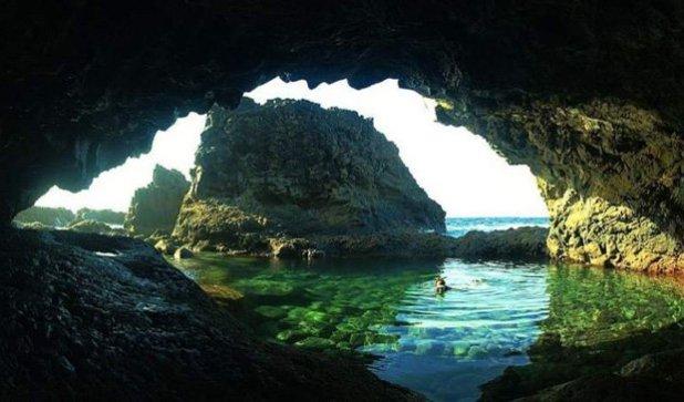 Piscinas naturales de la isla de El Hierro