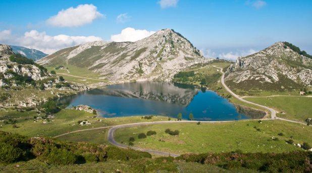 rutas en Asturias. Lago Enol