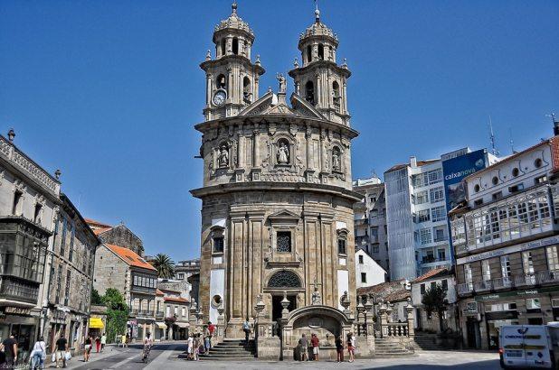 Virgen Peregrina, Costa Norte de Pontevedra