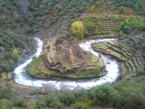 Rutas por los valles hurdanos. Meandro del río Malvellido