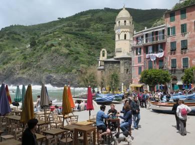 Vernazza, el puerto