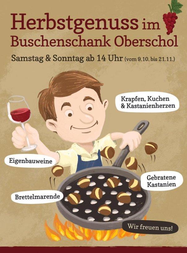 Törggelezeit 2021 Buschenschank Oberschol Vilpian - Mölten