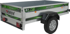 Remolque de carga 231×135 Daxara 238