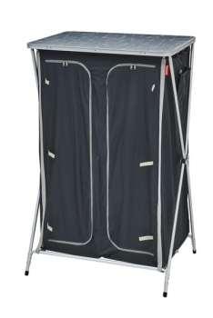 Mueble de camping guardarropa Gris/Negro