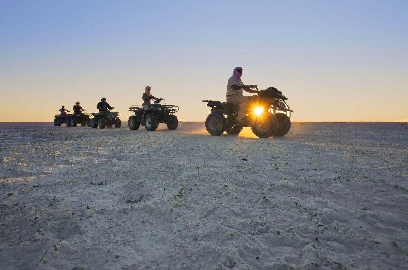 Quad Biking – Makgadikgadi Pan