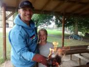 Family fire lighting