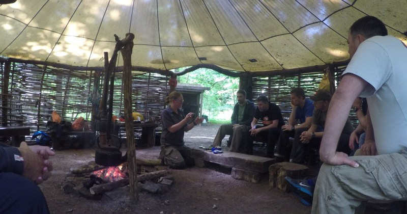Bushcraft Basecamp in Bridgend south Wales