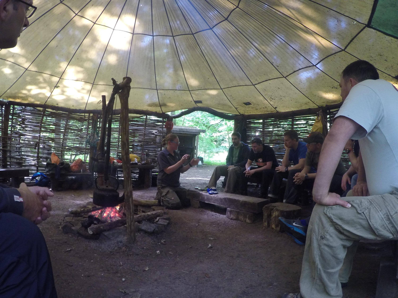 Bushcraft Basecamp in Bridgend south Wales