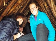 Shelter building - everyone take cover!