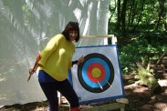 Hitting gold in archery