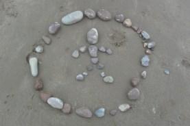Beach schools - land art