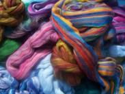 colourful felt