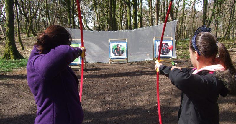 bushcraft Bridgend archery Bridgend