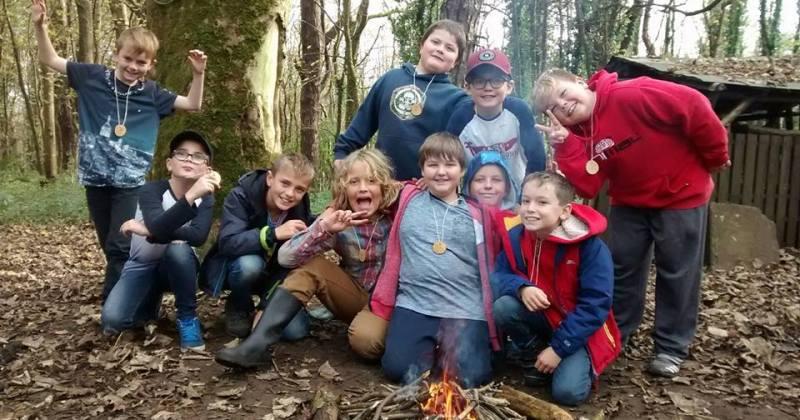 School trip South Wales