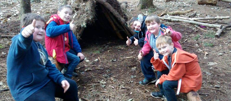 Outdoor learning Wales sessions for schools