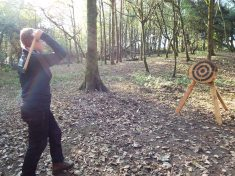 Axe throwing near Cardiff