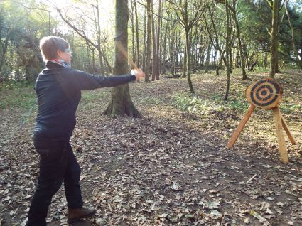 Axe throwing Cardiff