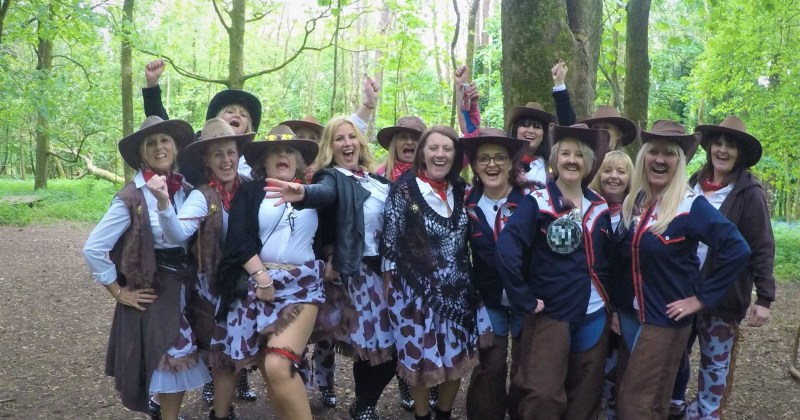 hen party near Cardiff