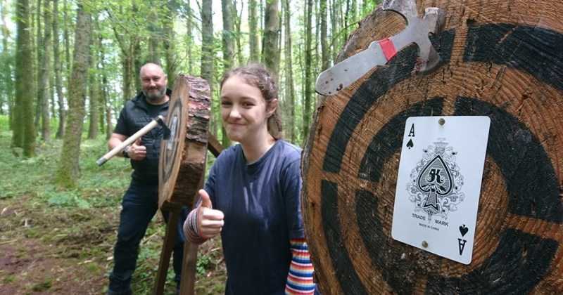 family axe throwing