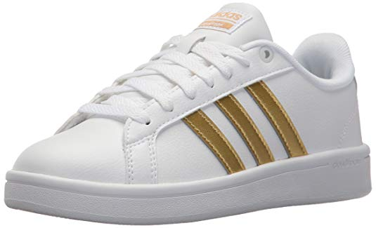 adidas gold stripe sneaks