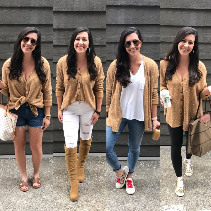Friday Five: 1 Sweater, 5 Ways