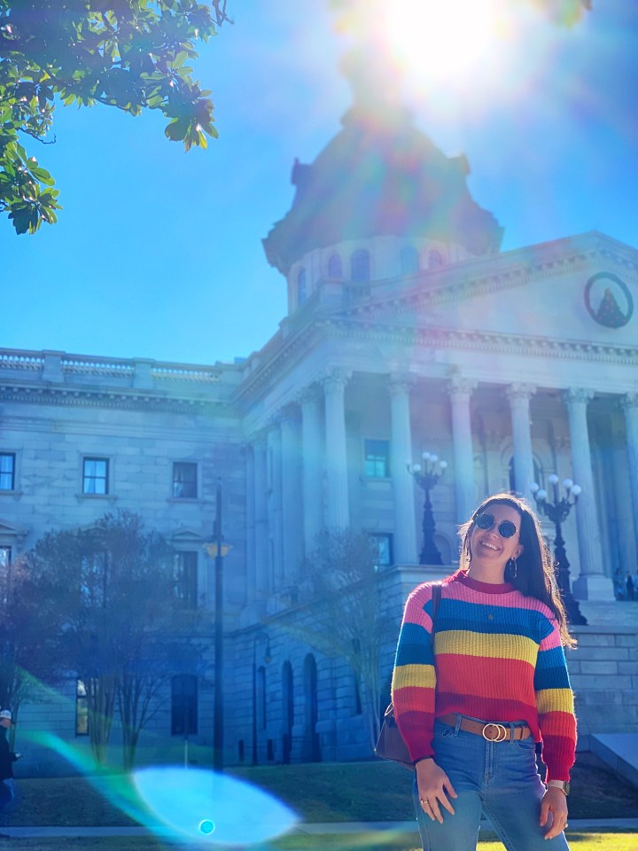 Rainbow Stripe Sweater